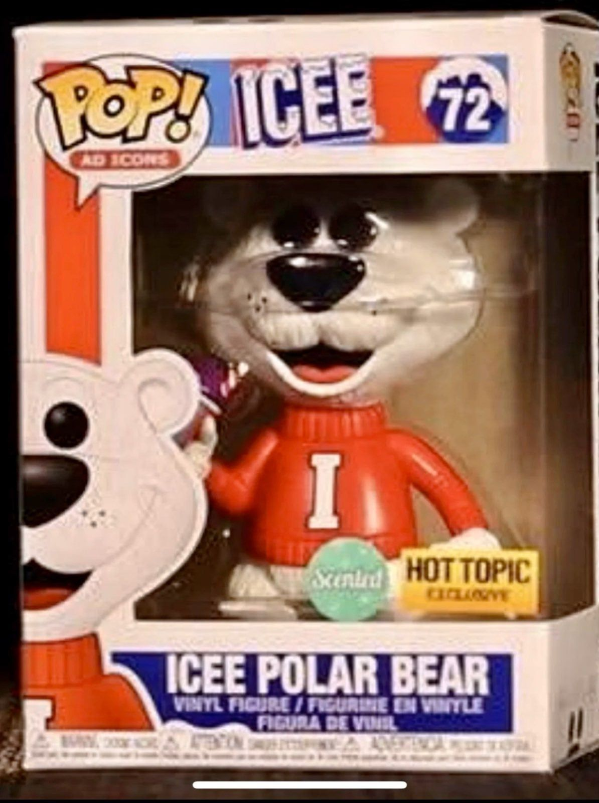Brand New Never Opened Funko Pop Collectible Handpicked In Mint Condition Grape Scented Variant Hot Topic Exclusive Funko Pop Dolls Funko Pop Toys Funko Pop