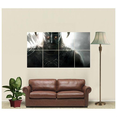 Skyrim Dawnguard Giant Art Print Poster JW89304