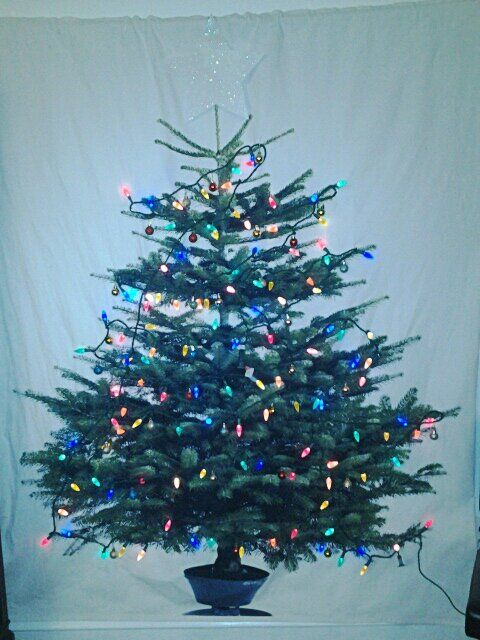 Ikea Margareta Fabric Panel Christmas Tree With Lights And Ornaments Ikea Christmas Ikea Christmas Tree Christmas Tree
