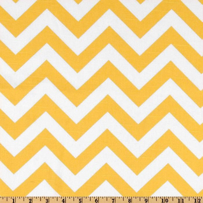 TABLE SQUARES CHEVRON Yellow and white table Squares for ...