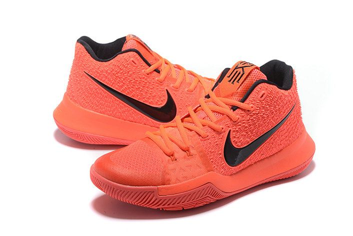 official photos 0fc1f 70416 New Kyrie Shoes Kyrie Irving 3 III Third Max Orange Laser Orange Total  Orange
