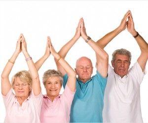 hatha yoga poses for chronic diseases  senior fitness