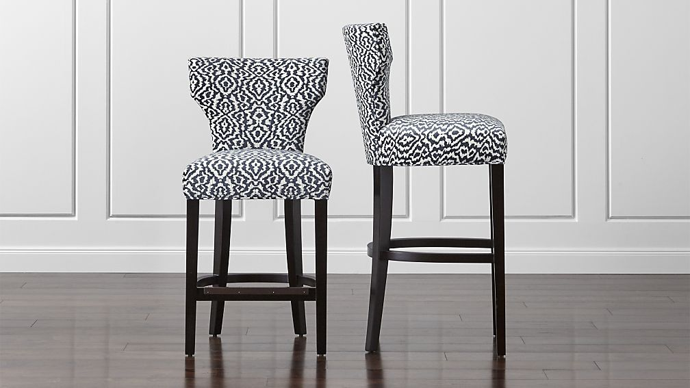 Sasha Upholstered Bar Stools Upholstered Bar Stools Bar