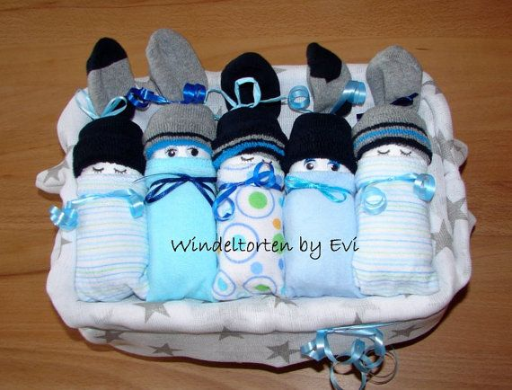 Windelbabys in der box junge baby geschenk geburt taufe baby