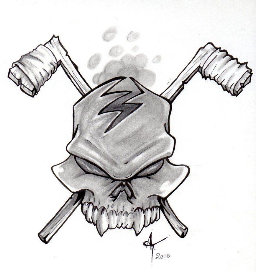 Pin By Eddy Buedts On Hockey Hockey Tattoo Weird Tattoos Hockey