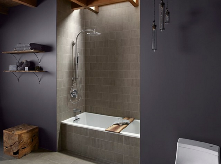 Weinstein Bath and Kitchen create this small square bathtub with ...
