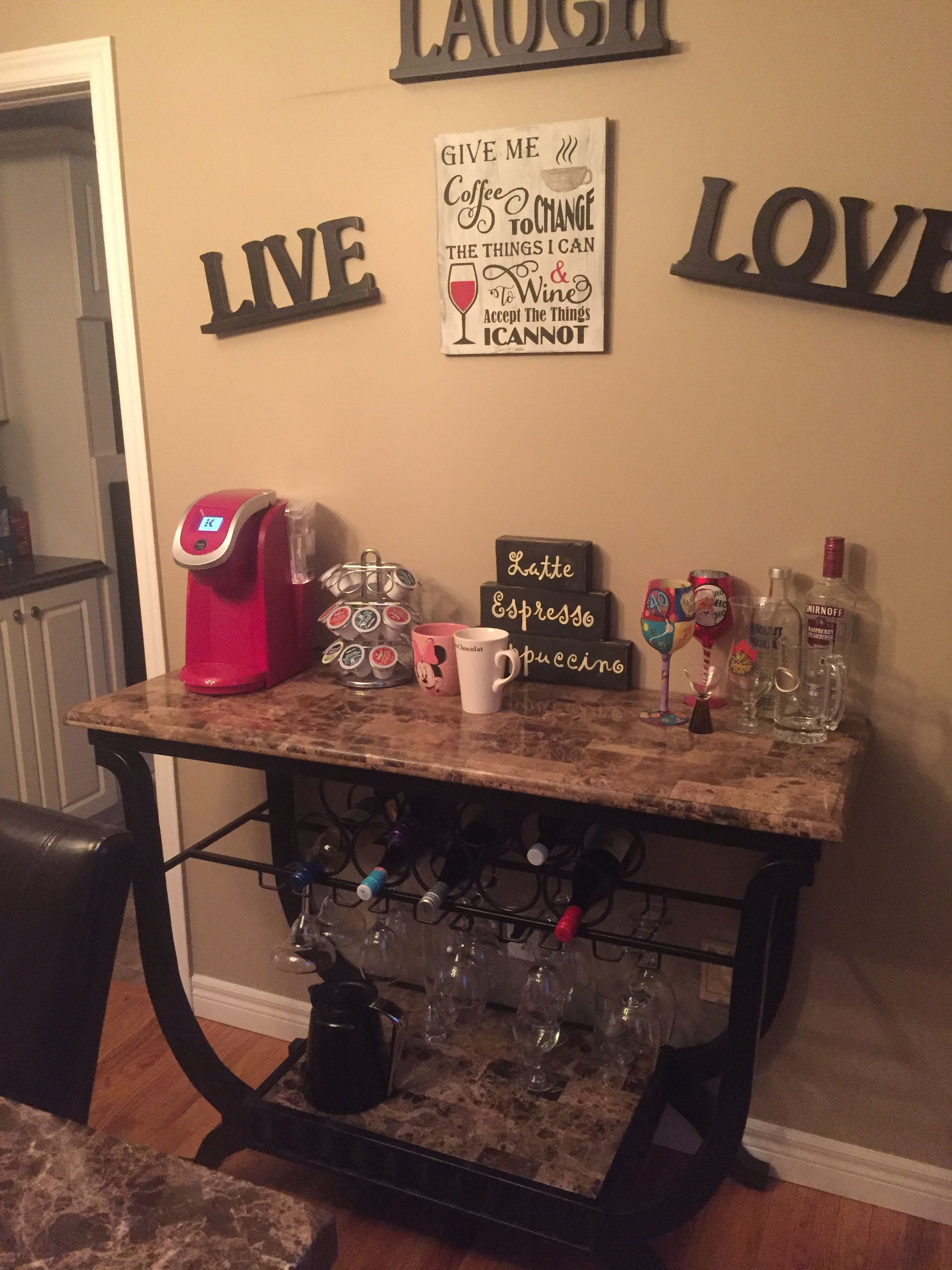 New coffee and wine bar (With images)   Coffee bar home ...