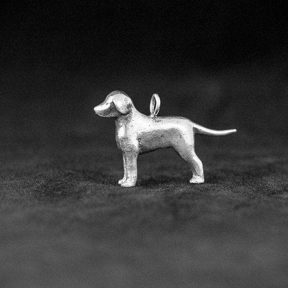 Sterling Silver Labrador Retriever Charm Silver Labrador Retriever Silver Labrador Labrador Retriever