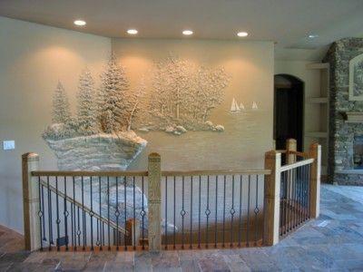 Quand le paysage sculpte nos intérieurs Toms, Mezzanine and Modern