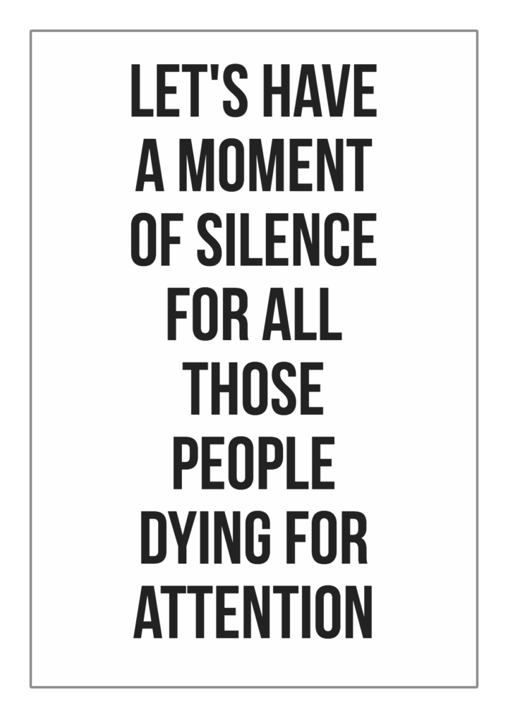 Why Do People Crave Attention?