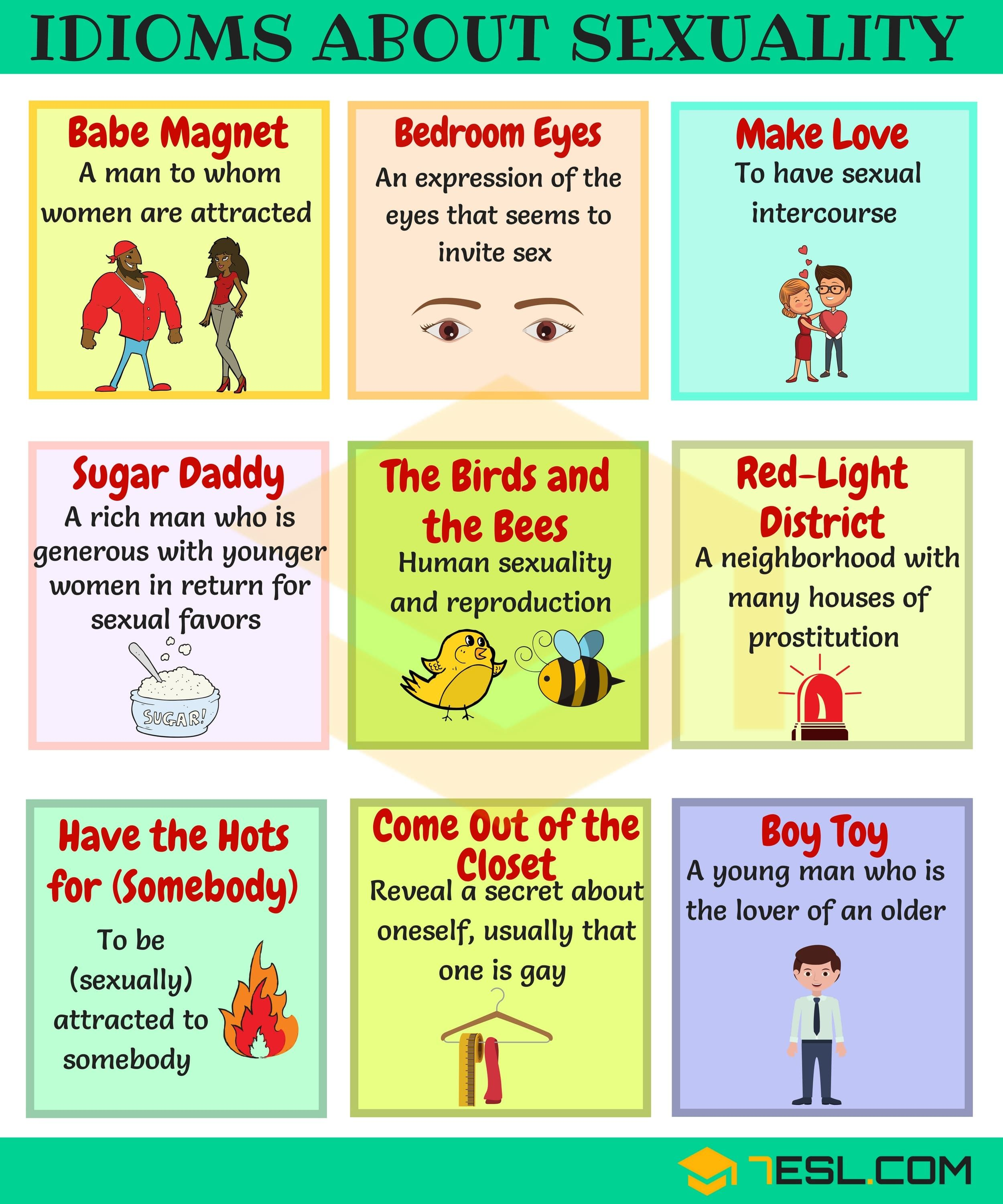10 Useful Sexuality Idioms, Phrases And Sayings  Idioms -3025