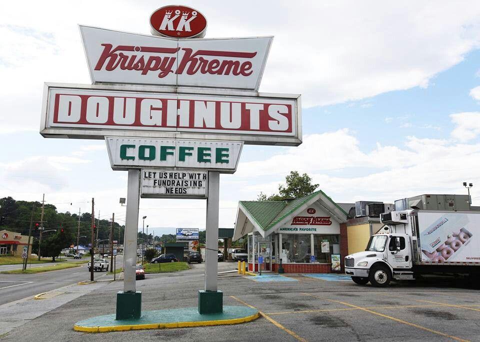 Krispy Kreme formally on Melrose Ave, Roanoke Va West
