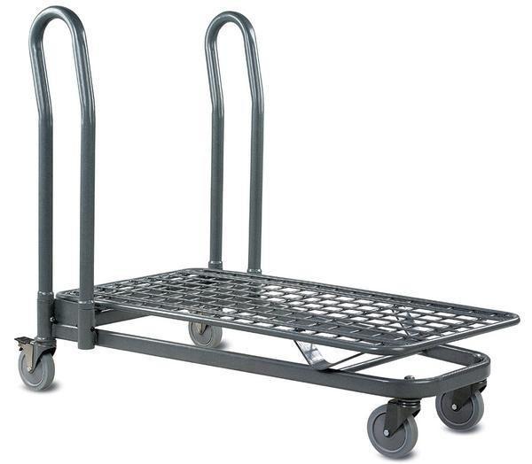 VersaCart EZ Tote 7150 Metal Handling Cart – 16-Pack