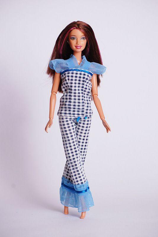 Pajamas for Barbie | barbie/american girl dolls | Pinterest | Nähen