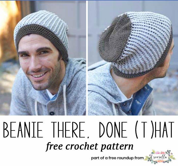 Husband-Approved Crochet Hats for Men | Pinterest | Gorros