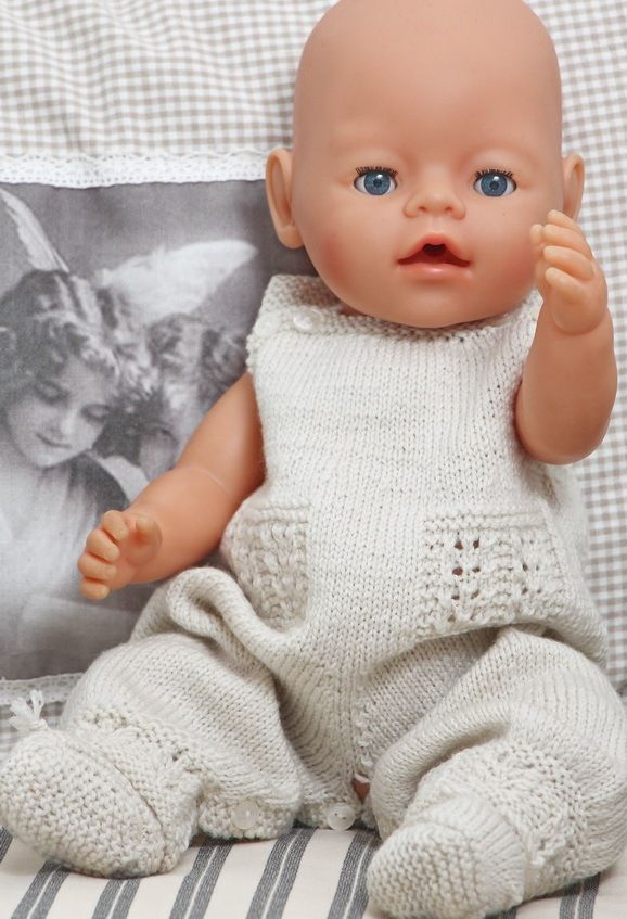 knitting patterns for baby dolls- link to page not just ...