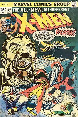 Uncanny X Men 94 Wikipedia The Free Encyclopedia Rare Comic Books Marvel Comics Covers Comic Covers