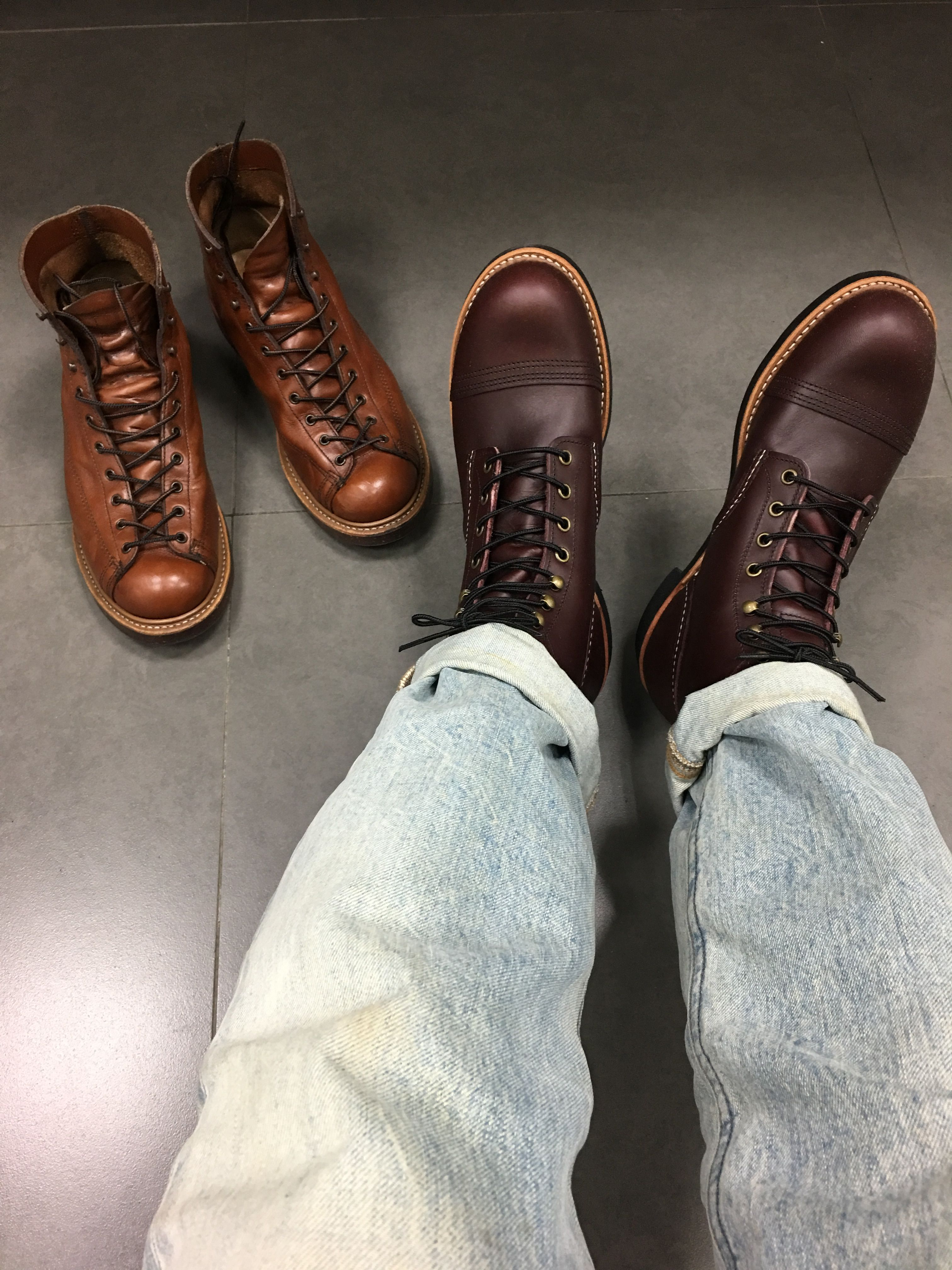 31cb128d886d Red Wing Iron Ranger 8119 Red Wing Lineman 2996