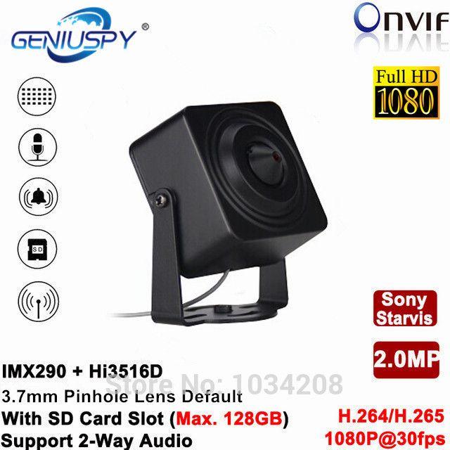 1080P Full HD Hi3516C H 264 H 265 1/2 8 SONY Starvis Senor