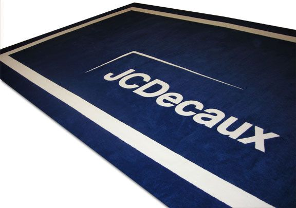 Jcdecaux Trade Show Logo Carpet 10 X 20 Carpet Runner Media Logo Rug Runner