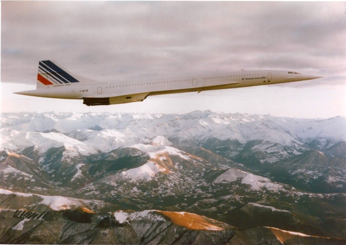 Pin by Richard Bodine on On silver wings! Concorde