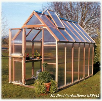 Build A Small Green House 1