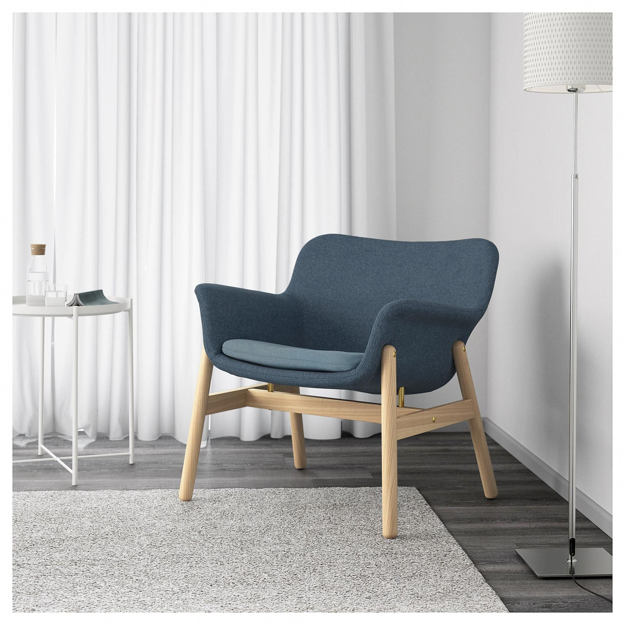 Lesesessel Ikea Ikea Vedbo Armchair Gunnared Blue In 2019 Home Furnishings