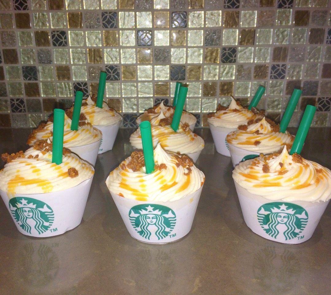 Easy Starbucks Caramel Cupcakes☕️🎂 in 2020 | Beautiful ...