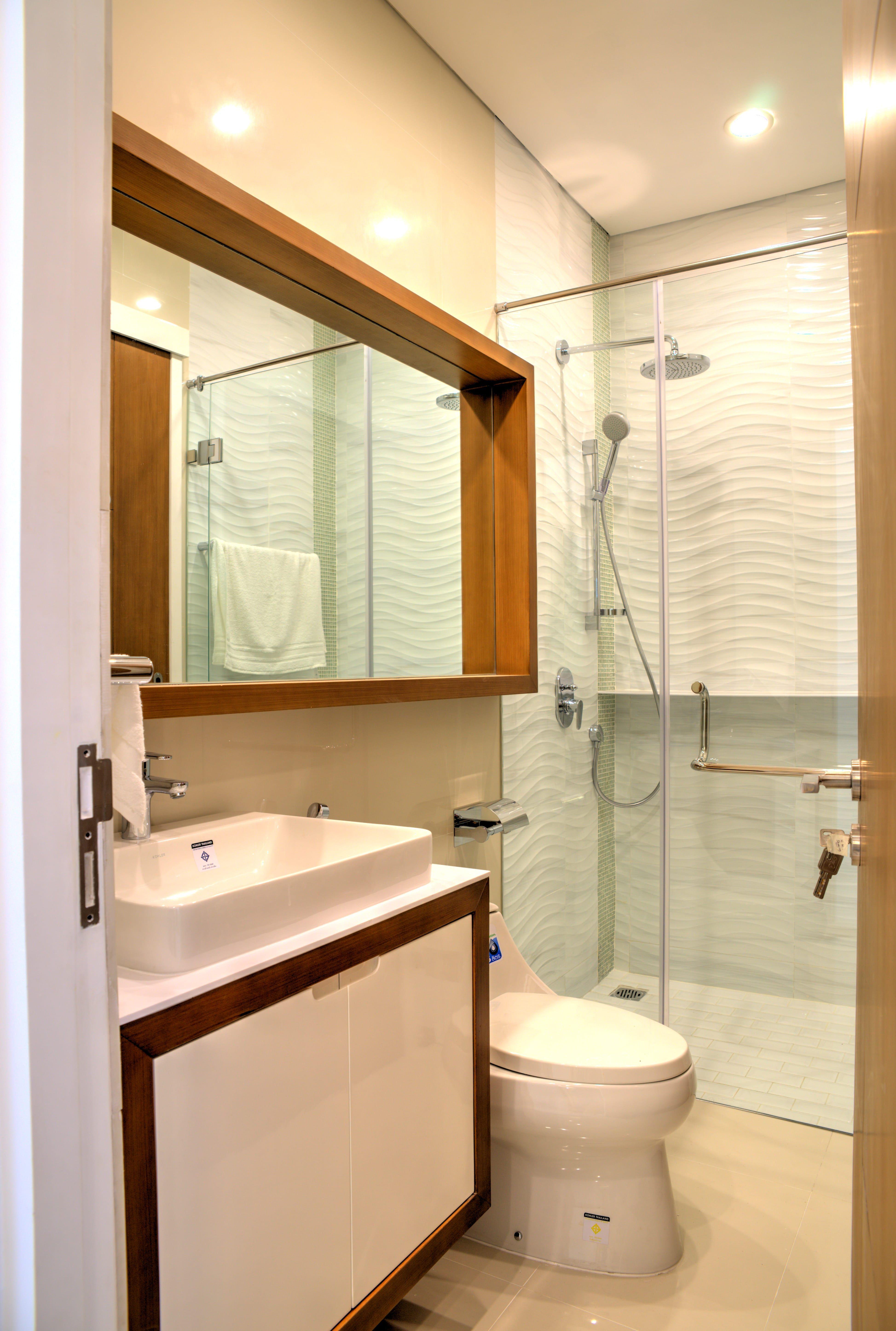 Desain kamar mandi minimalis yang menawan