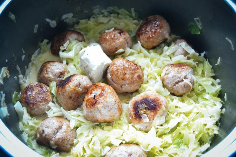 Spitzkohl zubereiten mit Mettbällchen Spitzkohl Rezept #spitzkohlrezeptehackfleisch