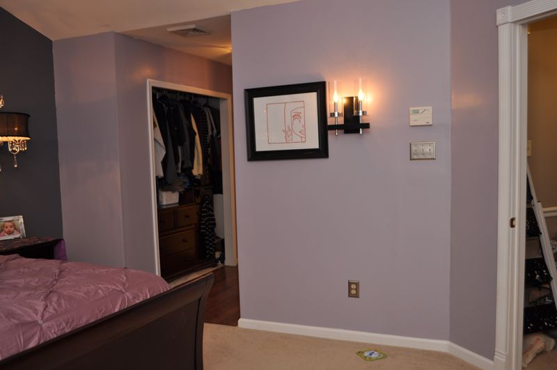 Benjamin Moore Violet Dusk Home Is Where My Heart Is