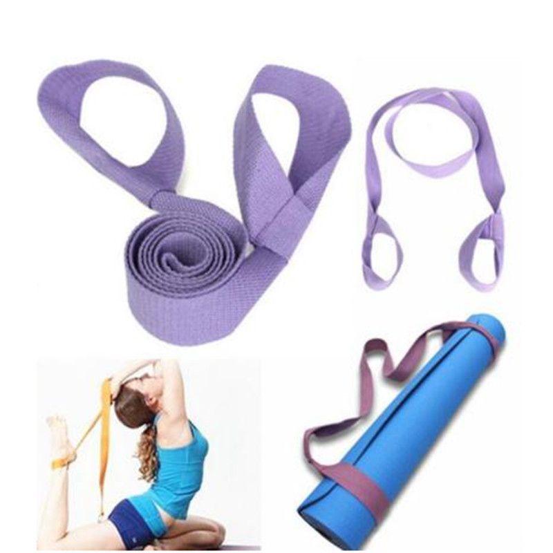 Sangle de yoga ajustable Sling Strap Shoulder Carry Belt Stretch Sport Band