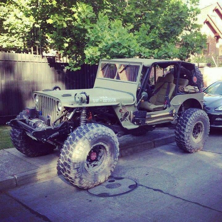 Pin En Jeep Willys