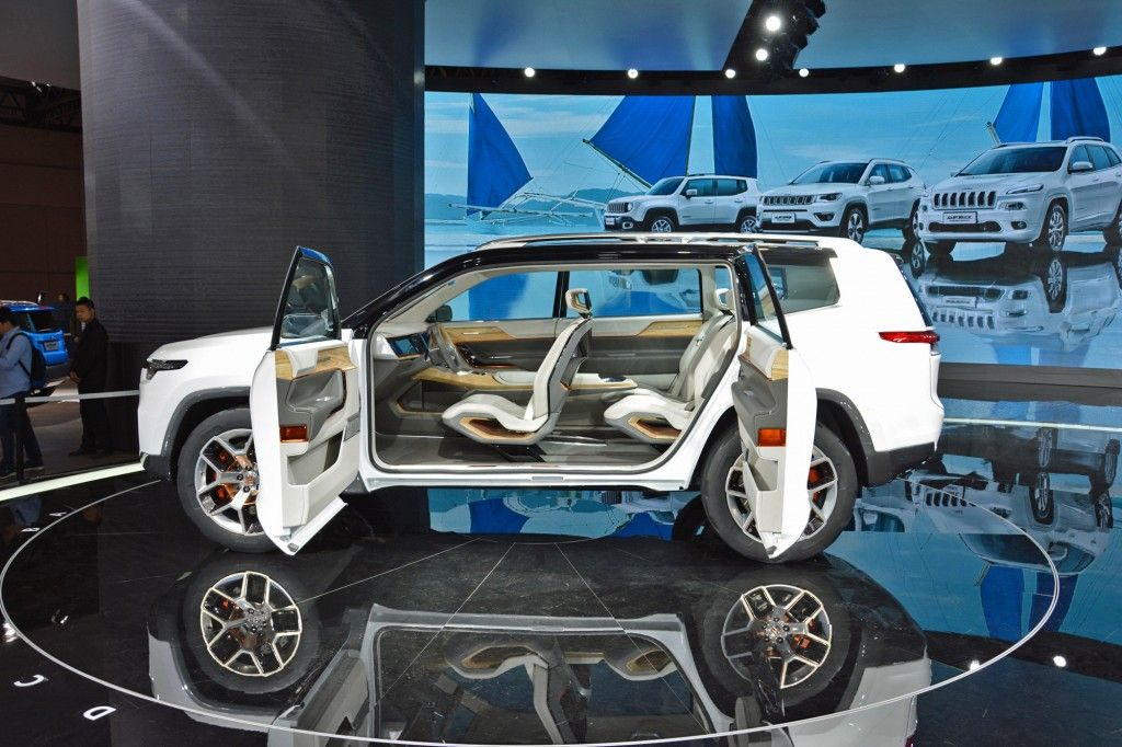 Jeep Yuntu Concept For Shanghai May Have Plug In Hybrid Powertrain Jeep Jeep Concept Concept Cars