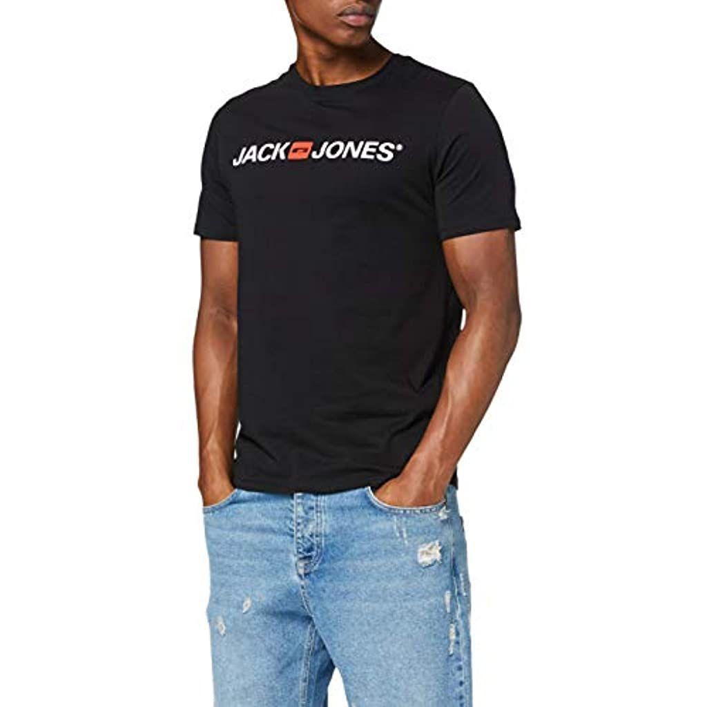 Jack /& Jones Jjecorp Logo tee SS Crew Neck Noos Camiseta para Hombre