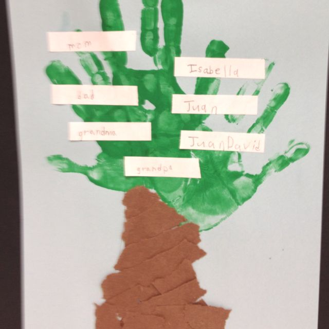 Family Tree Craft For Grandparents Day My Style Pinterest
