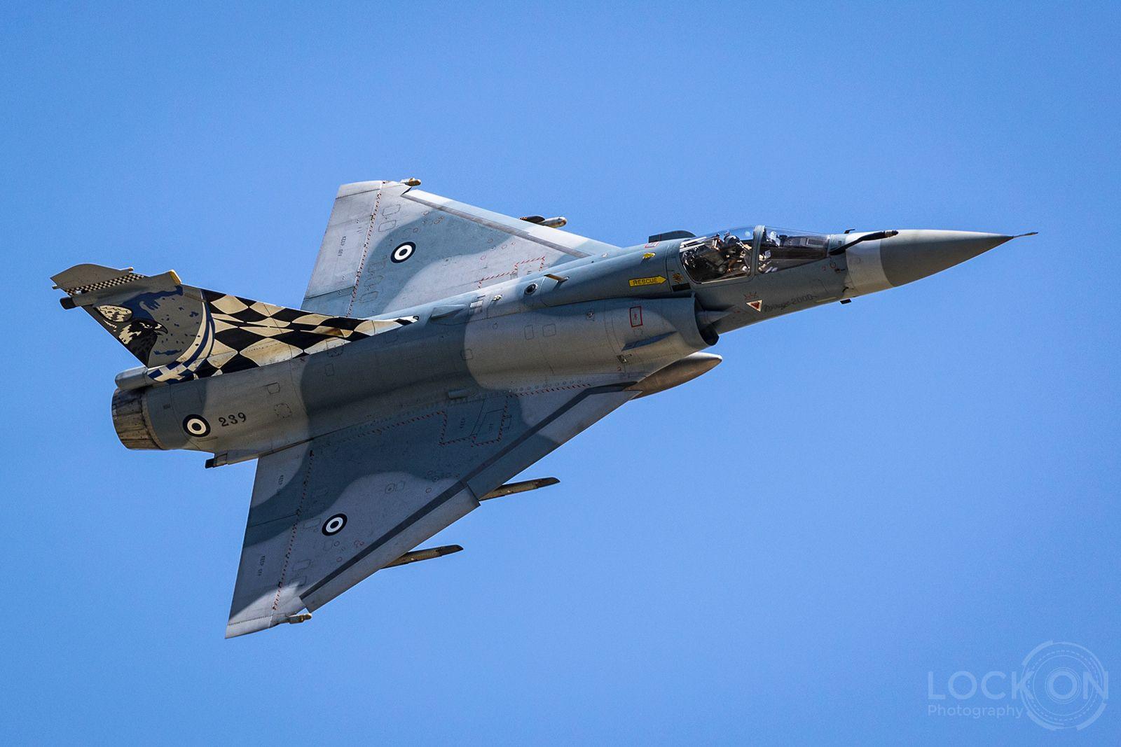 Hellenic Air Force Mirage 2000EG | Hellenic air force, Dassault ...