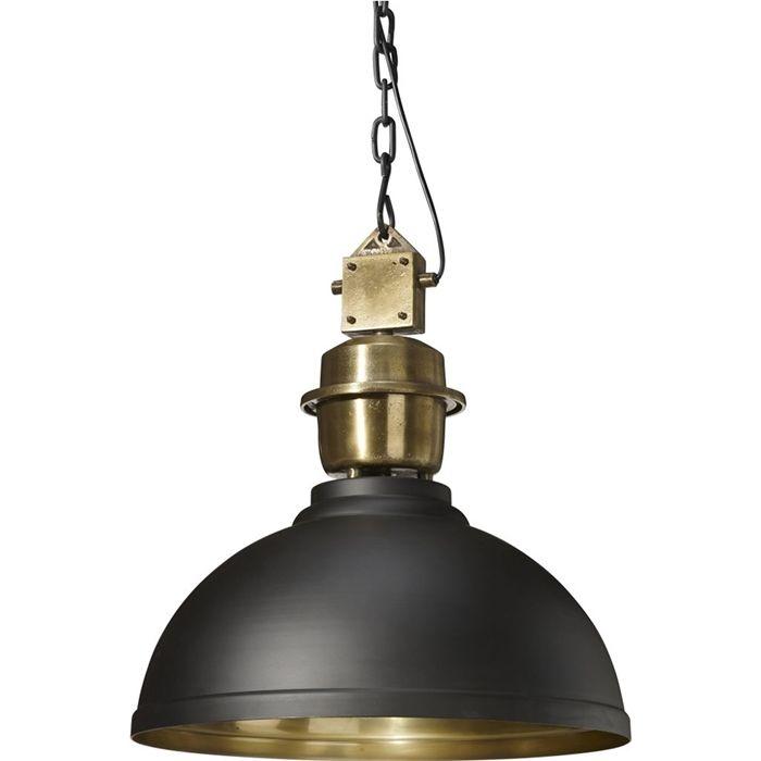 INDUSTRIALNA LAMPA MANCHESTER 52 CZARNY/ZŁOTY