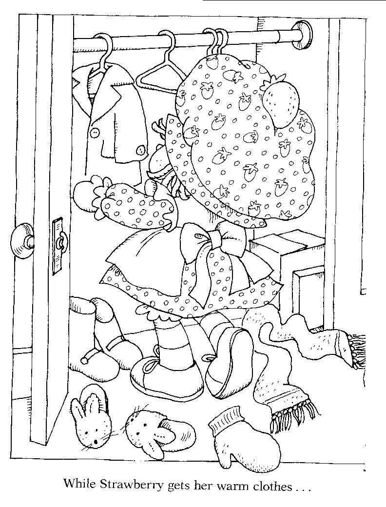 Original Strawberry Shortcake   miscellaneous   Pinterest   Dibujos ...
