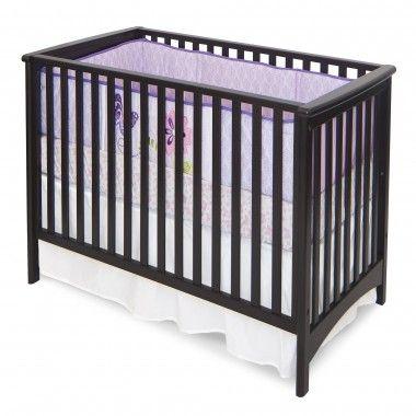 Child Craft London Stationary Crib In Jamocha F10031 07