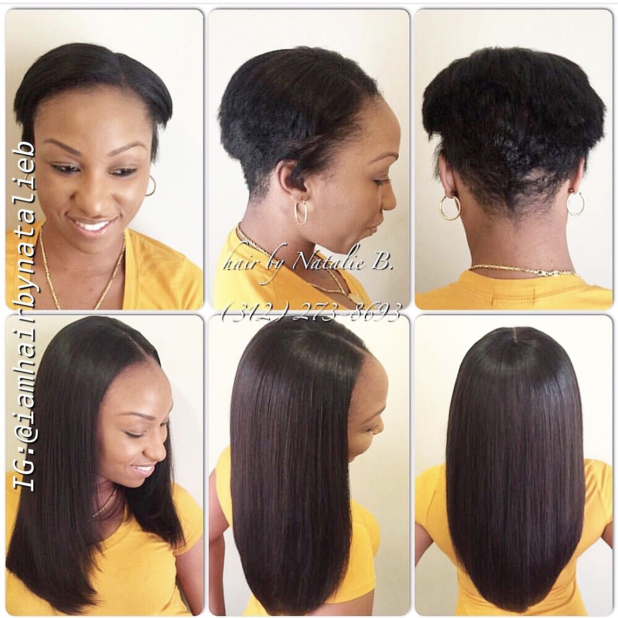 Don T Let Short Hair Stop You From Wearing A Sew In Hair Weave As