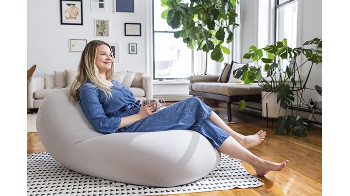 MOON POD in 2020 Bean bag chair, Bean bag, Comfortable chair