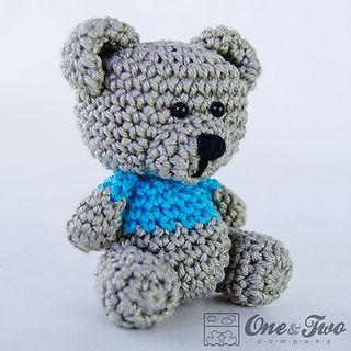 Free Crochet Pattern Amigurumi Elephant : Amigurumi Teddy Bear - FREE Crochet Pattern / Tutorial ...