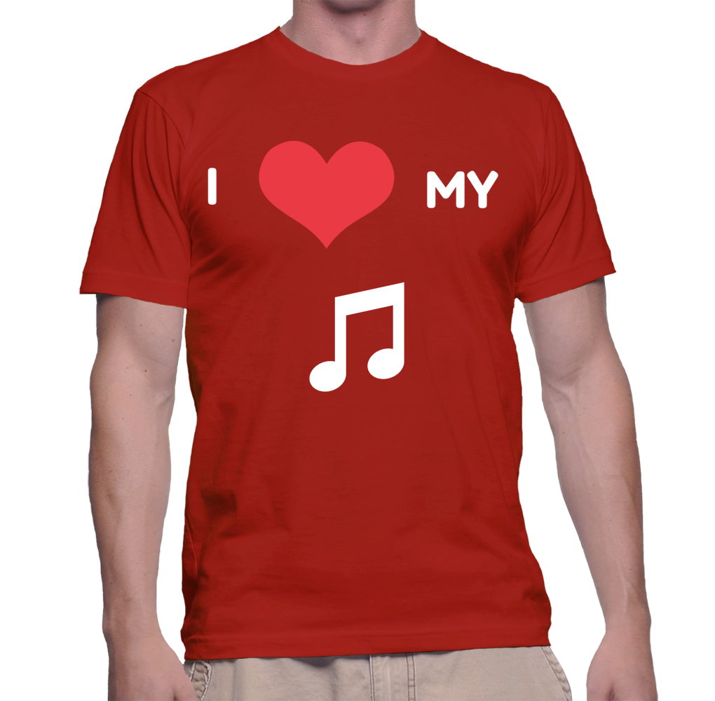 I Love My Music Director T-Shirt