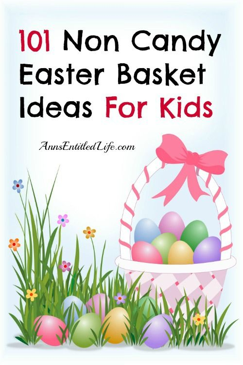 101 non candy easter basket ideas for kids holiday easter 101 non candy easter basket ideas for kids negle Gallery