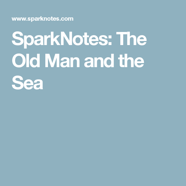 the old man and the sea outline