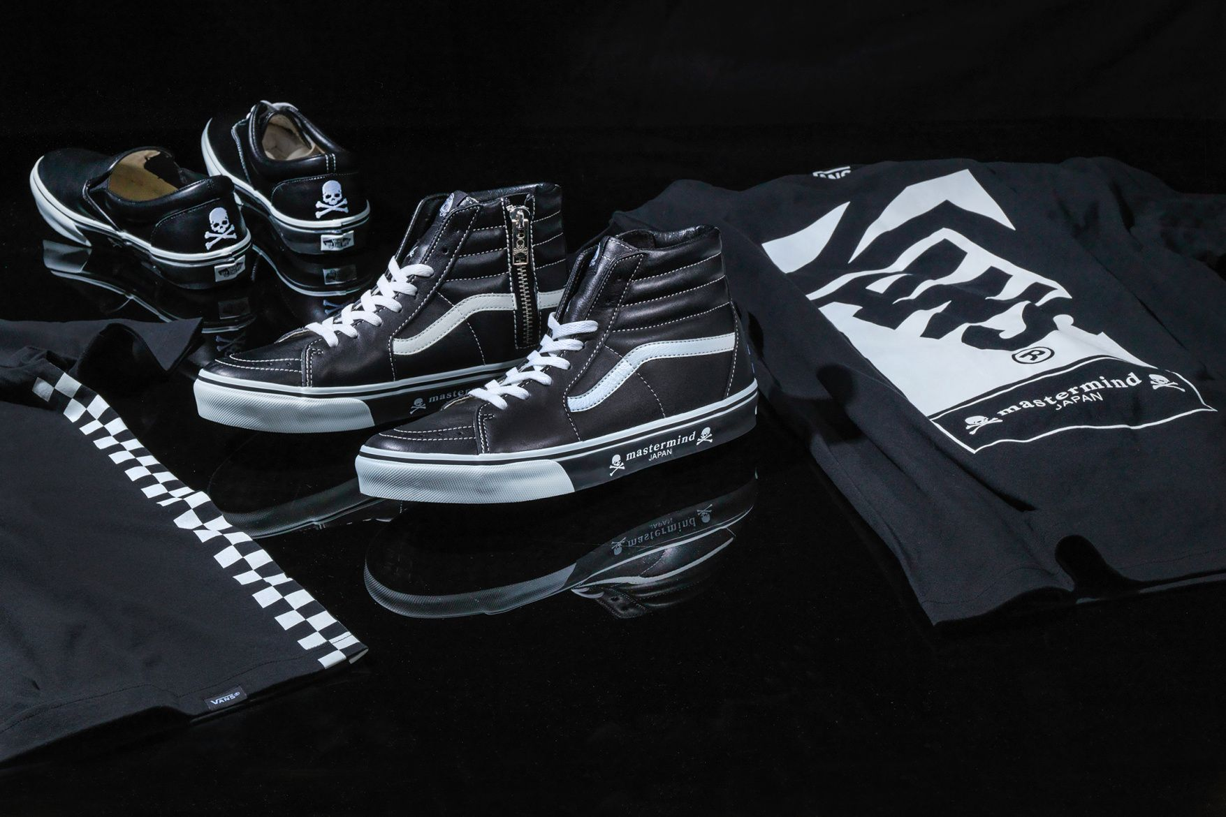 mastermind JAPAN x Vans Footwear & Apparel Collection