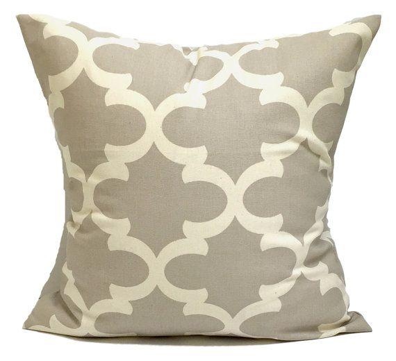 Tan Pillows Tile Pillow Covers Moroccan Decorative Natural