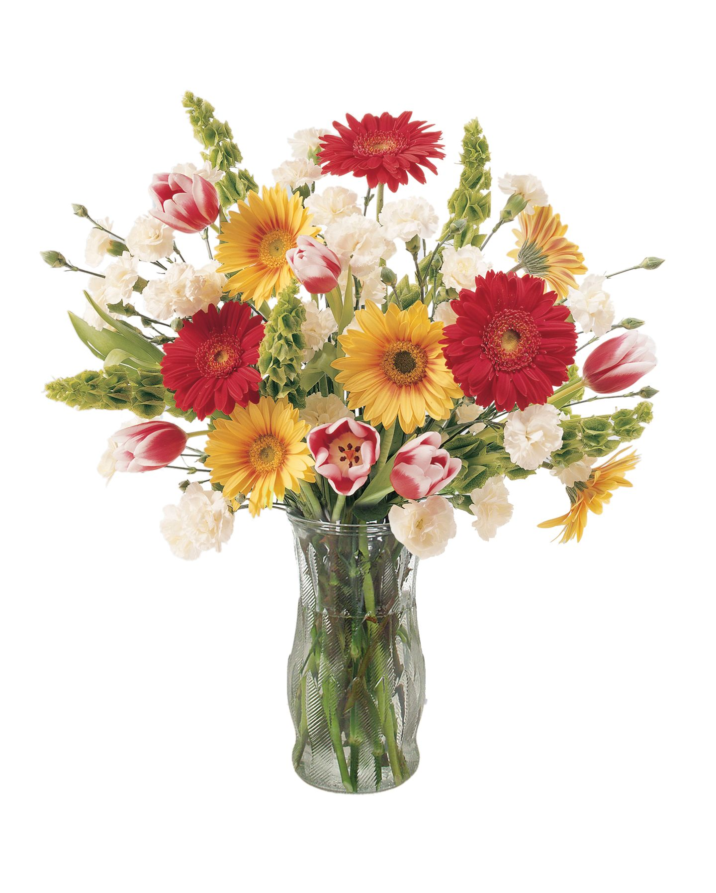 Send a birthday bouquet in a fun gift container to make