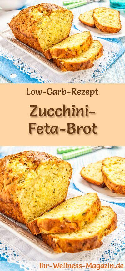 Photo of Low carb zucchini feta bread – healthy recipe for baking bread
